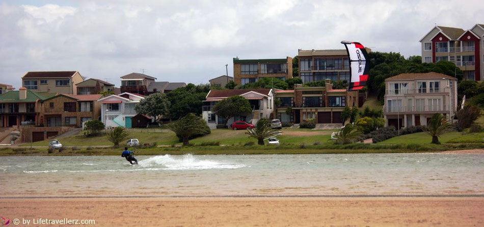 Kitesurfen in Jeffrey's Bay