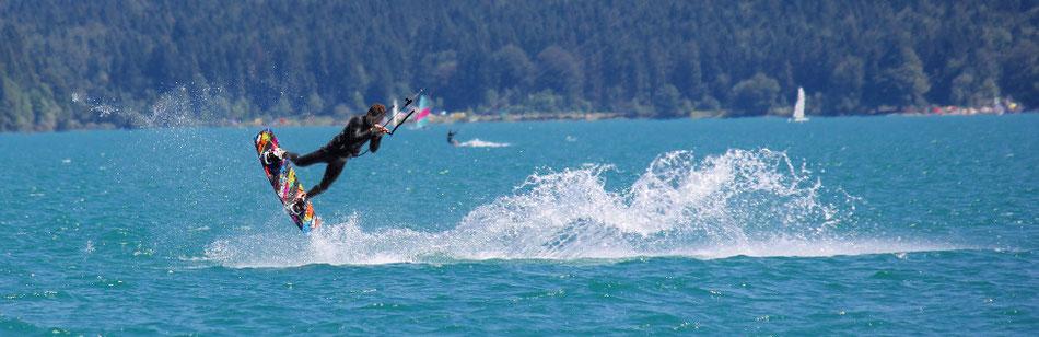 Kitesurfen Walchensee - Zwergerlinsel - Kitesurfing - Lifetravellerz - luigiontour
