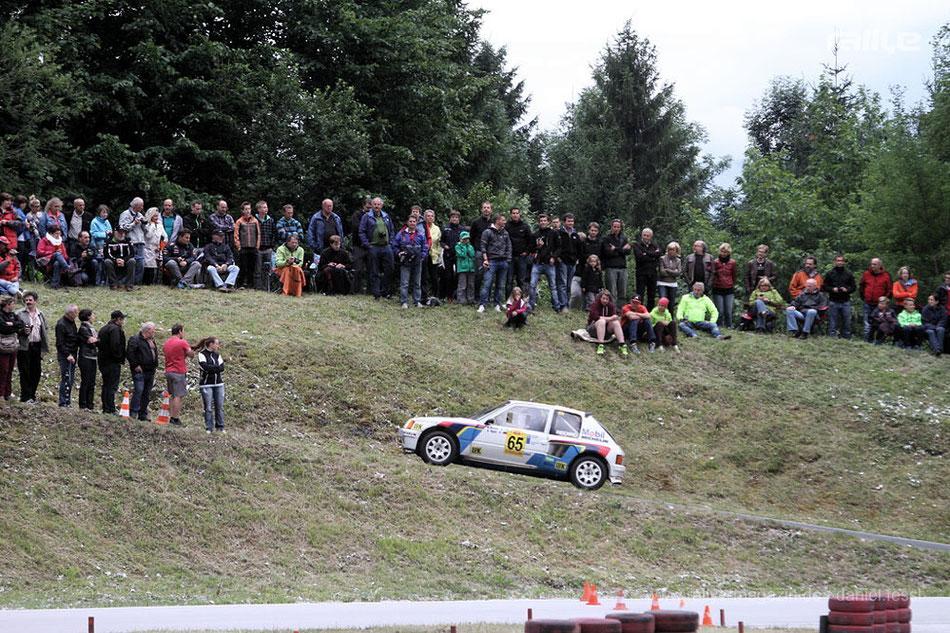 Kalle Grundel / Klaus Hopfe - PEUGEOT 205 T16 - 2014 Gruppe B Legenden in Saalfelden/Österreich