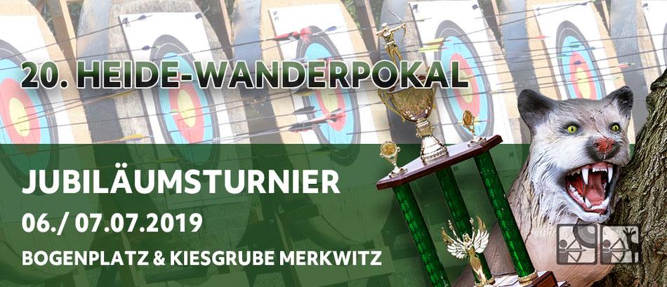 Link zum Beitrag/ 20. Heide-Wanderpokal am 06./ 07.07.2019 in Merkwitz - Bogenschiessenturnier Fita und 3D