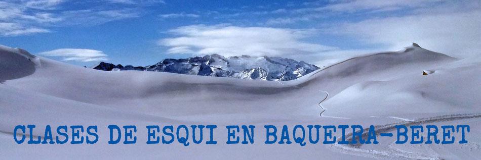 Clases de esquí Baqueira, Clases de esquí con niños Baqueira, Clases particulares esquí Baqueira, Profesor esquí Baqueira