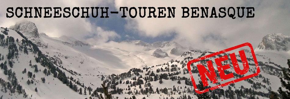 Schneeschuhtouren in den Pyrenäen