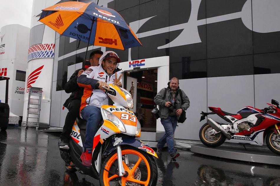Marc Marquez für Repsol Honda in der MotoGP 2017