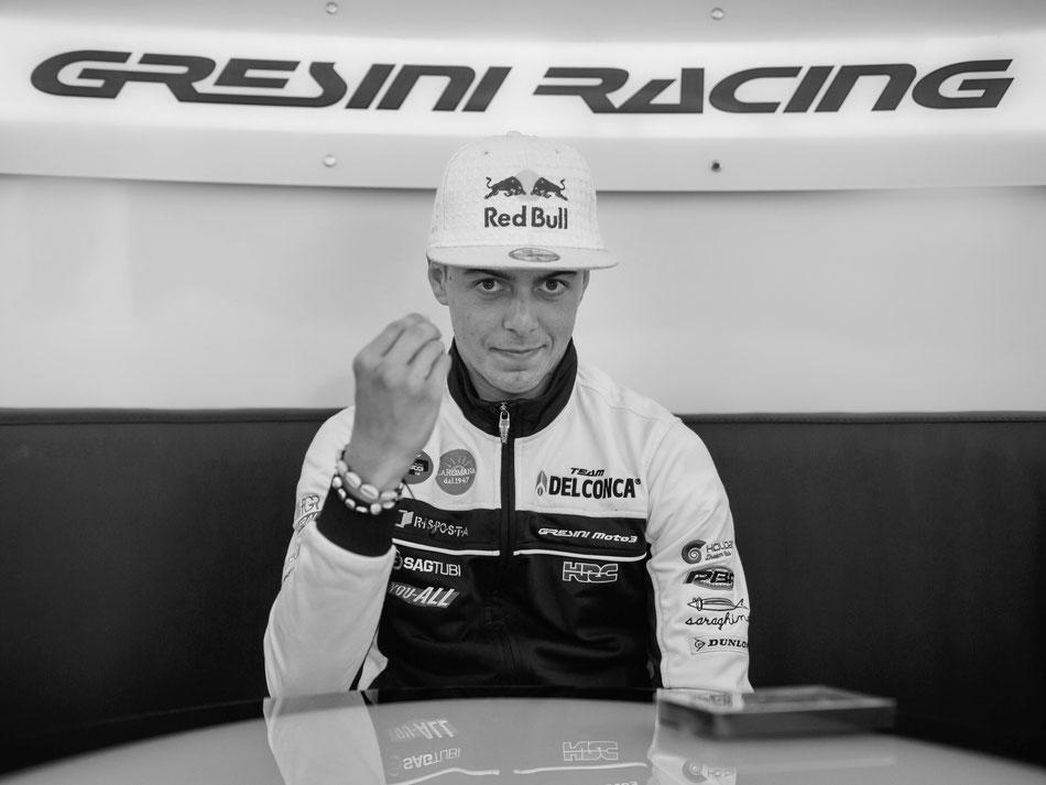 Fabio Di Giannantonio in der Moto3 2018 am Sachsenring für das Gresini Racing Team