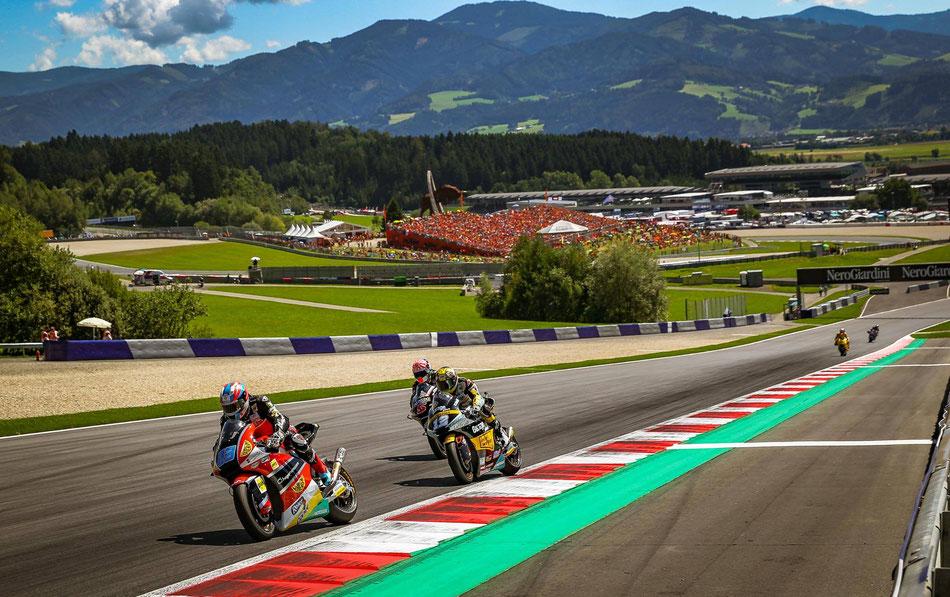 Marcel Schrötter 2016 in der Moto2 für das AGR Team in Spielberg