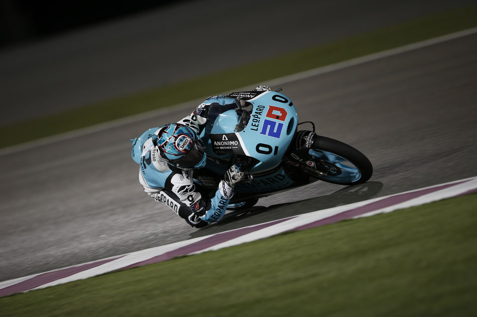 Fabio Quartararo 2016 in der Moto3 in Qatar für Leopard Racing