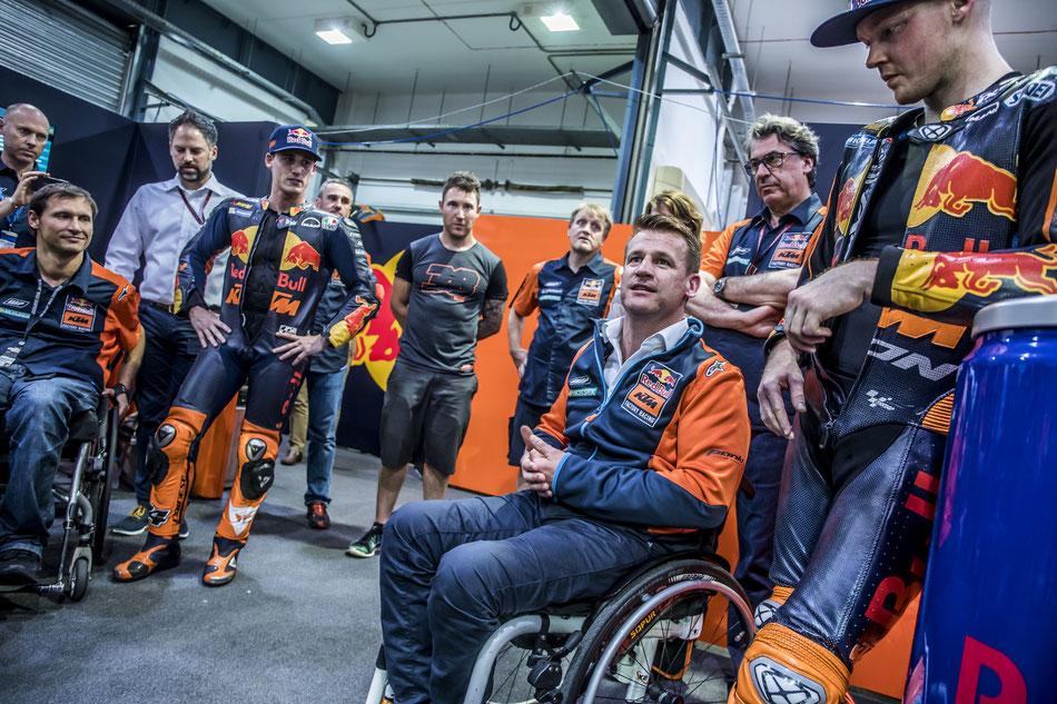 KTM Sportchef Pit Beirer in der MotoGP 2017