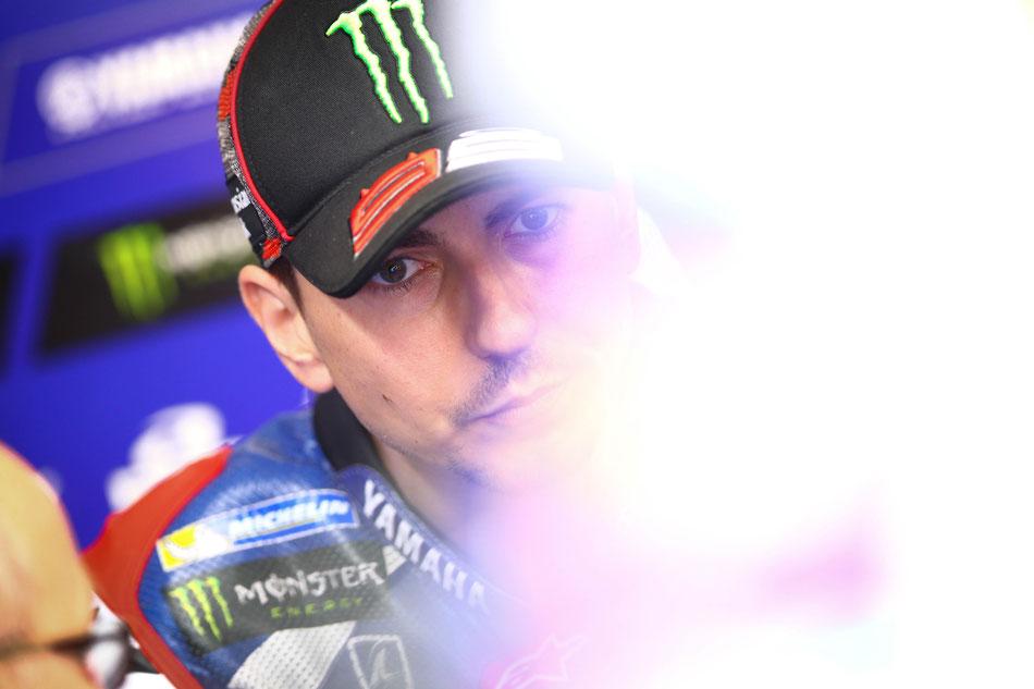 Man kennt das Gesicht: Jorge Lorenzo 2016 in der MotoGP in Assen.