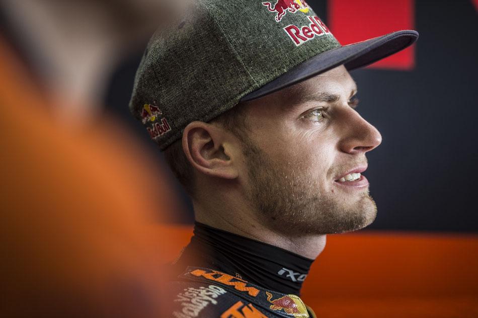 Brad Binder 2018 für KTM in der Moto2