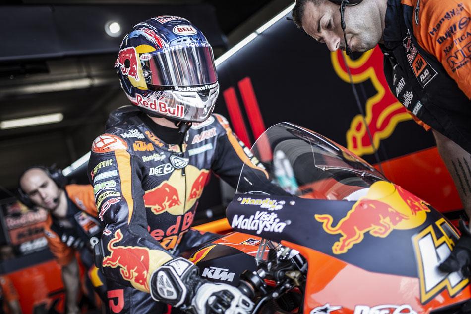 Für KTM fährt Brad Binder bereits das vierte Jahr in Folge.