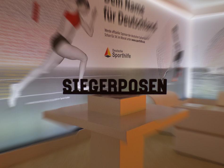 """Die Kampagne """"Dein Name für Deutschland"""" soll Menschen für die geförderten Sportarten der Sporthilfe begeistern."""