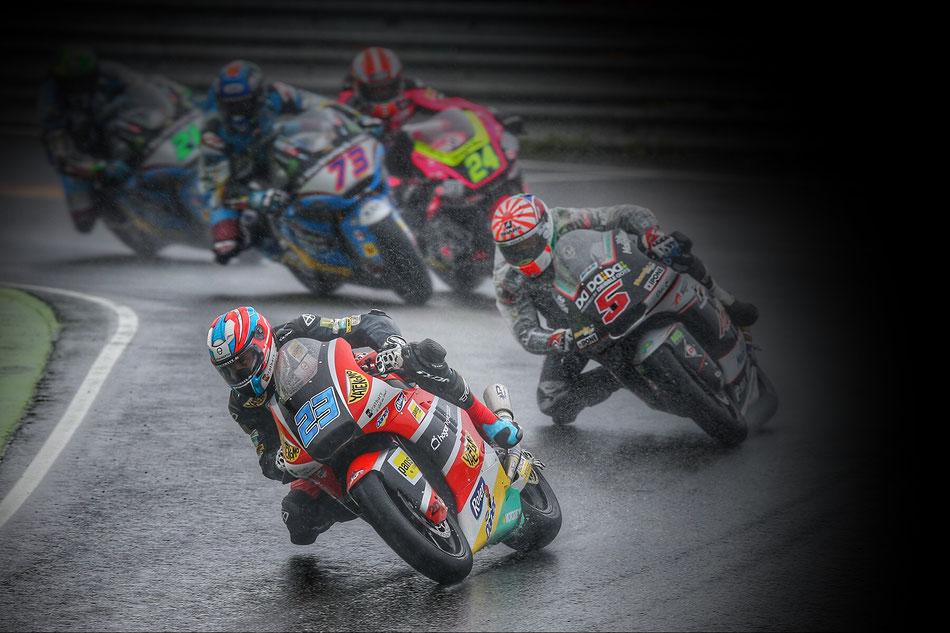 Marcel Schrötter 2016 in der Moto2 am Sachsenring