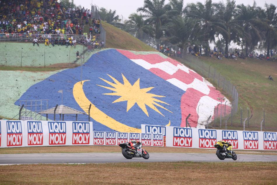 Fester Bestandteil des MotoGP Kalenders: Sepang in Malaysia. Die nächsten Strecken in Asien stehen schon in den Startlöchern