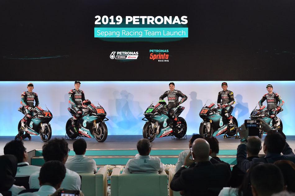 Das Petronas Sepang Racing Team tritt 2019 erstmals in allen drei WM Klassen an.