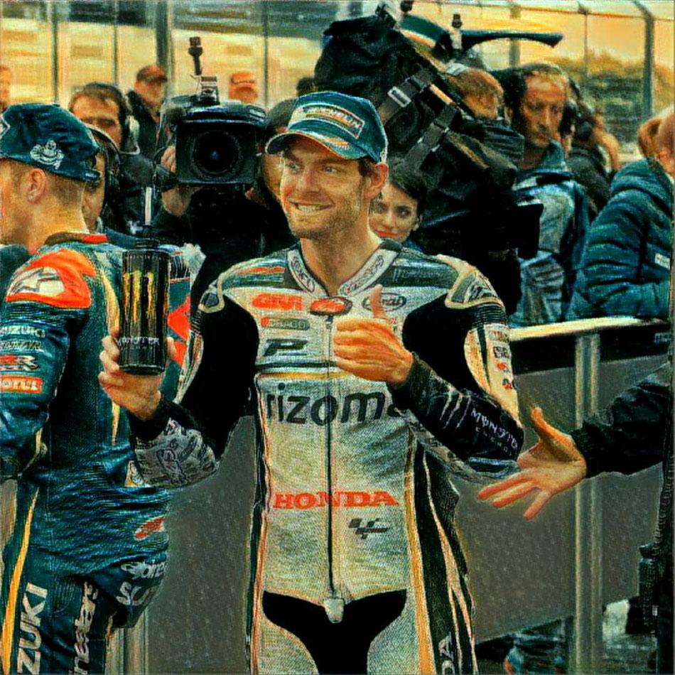 Cal Crutchlow in der MotoGP 2016 in Silverstone für LCR Honda