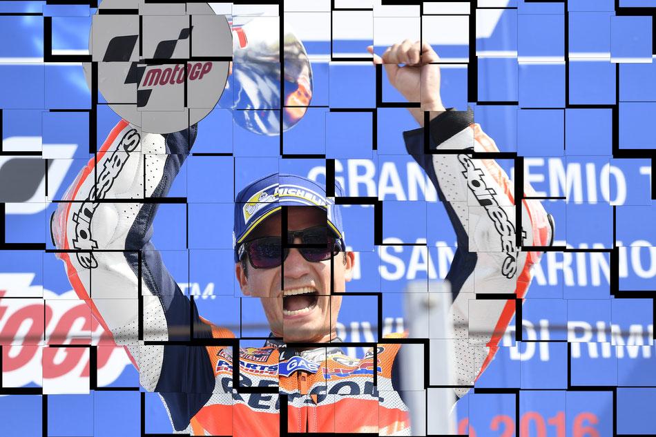 Dani Pedrosa in der MotoGP 2016 in Misano für Honda