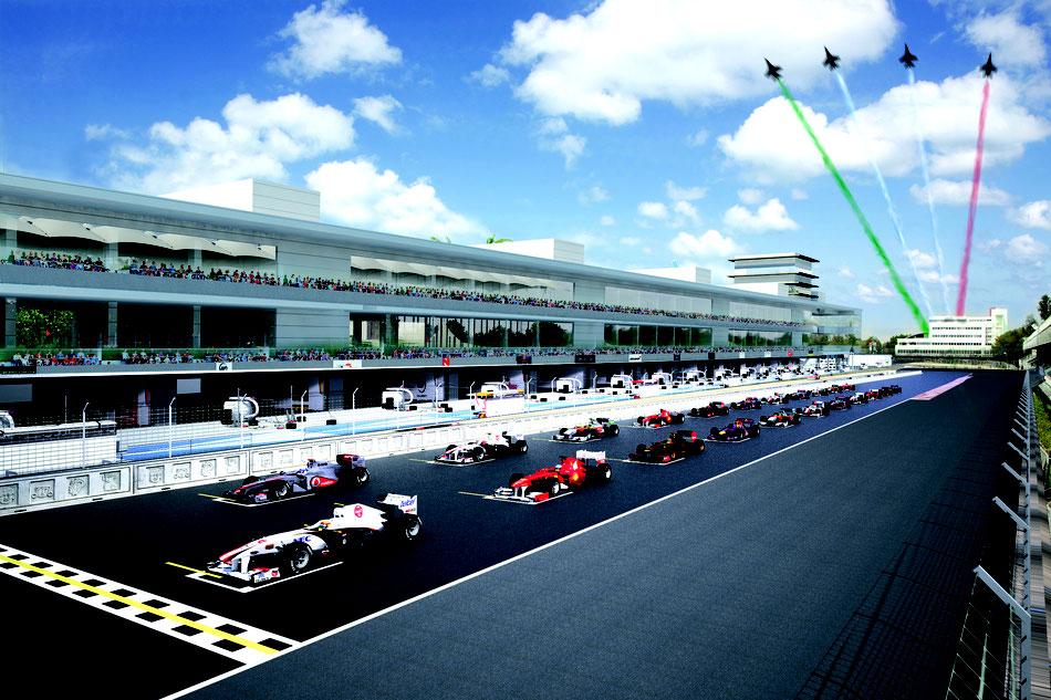 Das nächste große Projekt: Die neue Strecke in Mexiko.