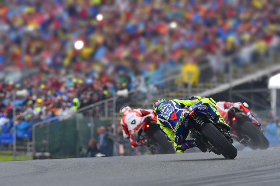 Valentino Rossi 2016 in der MotoGP auf Yamaha am Sachsenring