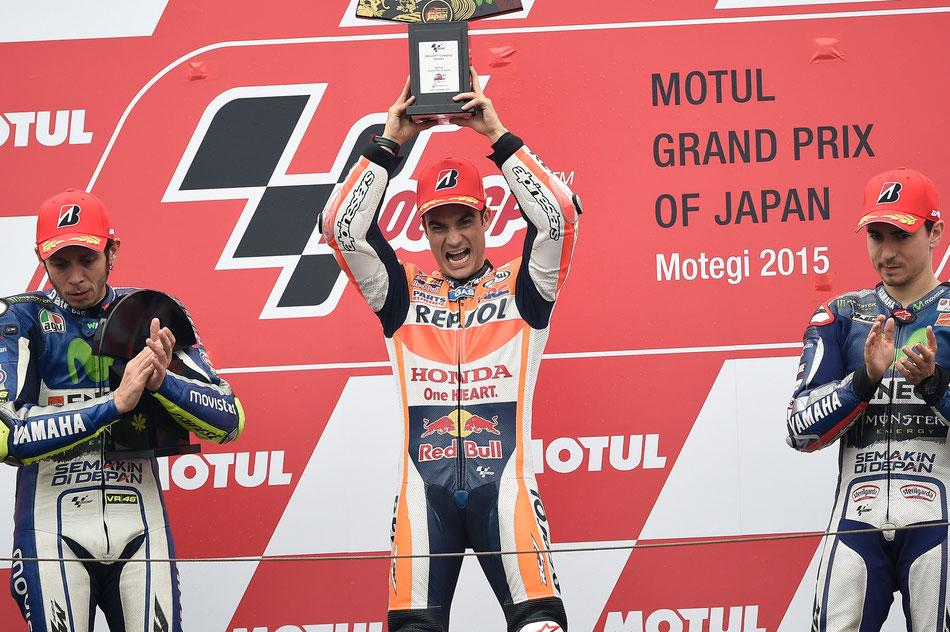 Dani Pedrosa beim MotoGP Rennen 2015 in Japan