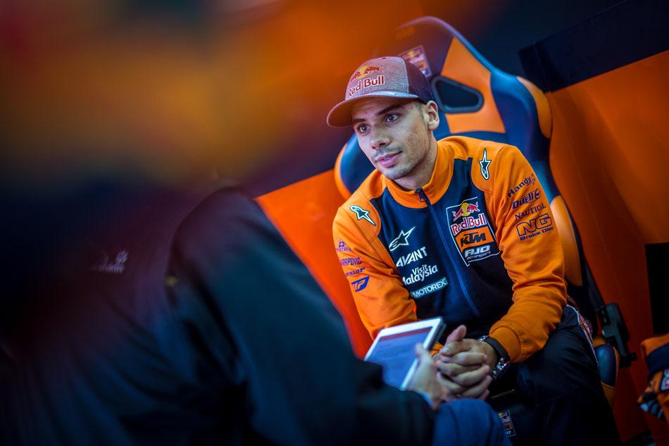 Miguel Oliveira für KTM Ajo 2017 in der Moto2