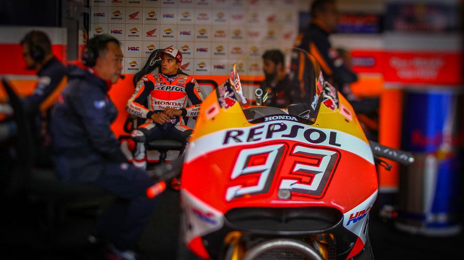 Marc Marquez in der MotoGP 2016 für Honda am Sachsenring.