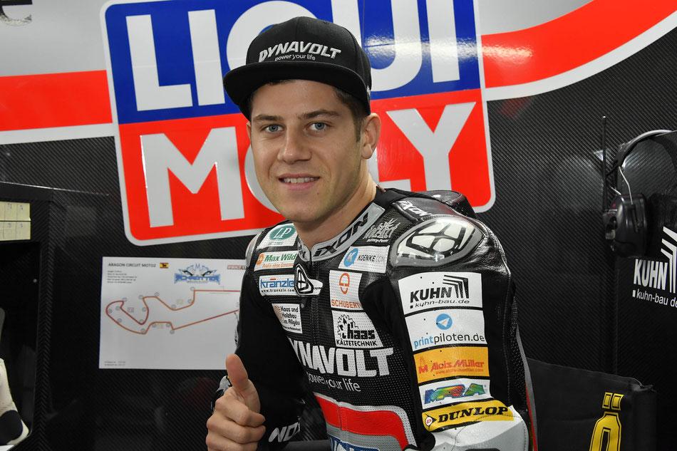 Marcel Schrötter fährt auch 2018 in der Moto2 für IntactGP