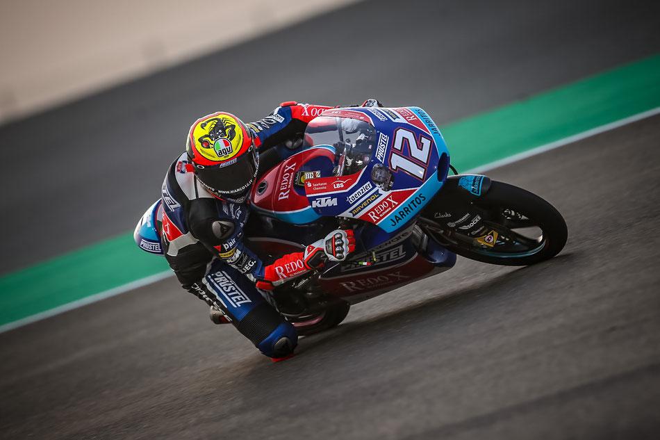 Marco Bezzecchi 2018 in der Moto3 für PrüstelGP