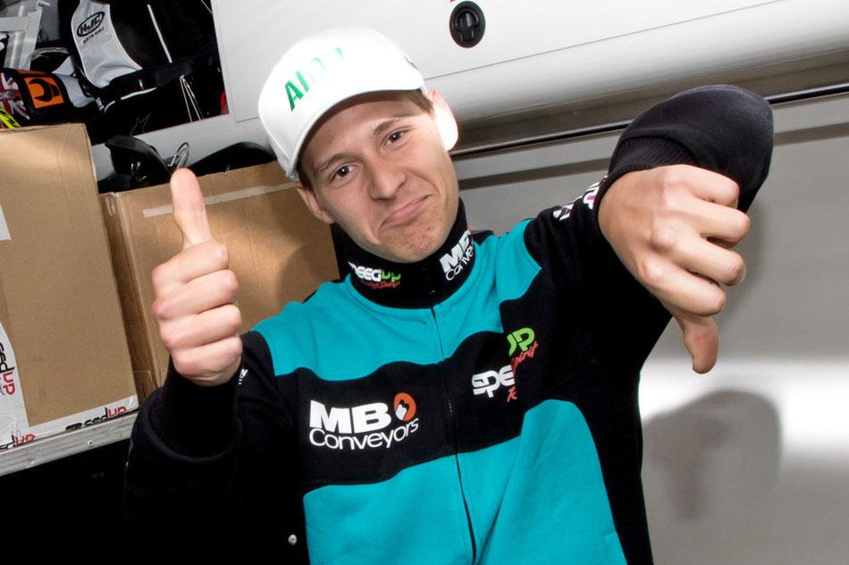 Fabio Quartararo im Interview ohne Worte 2018 am Sachsenring in der MotoGP
