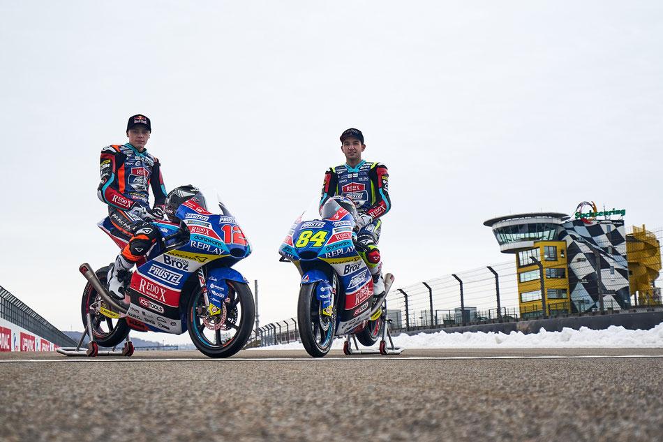 Der deutsche Rennstall Prüstel GP geht mit einem tschechischen Fahrerduo 2019 an den Start in der Moto3.