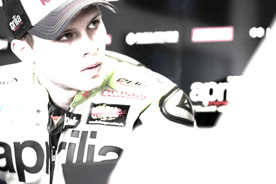 Stefan Bradl 2016 in der MotoGP in Assen für Aprilia