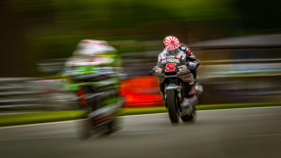 Johann Zarco 2016 in der Moto2 am Sachsenring