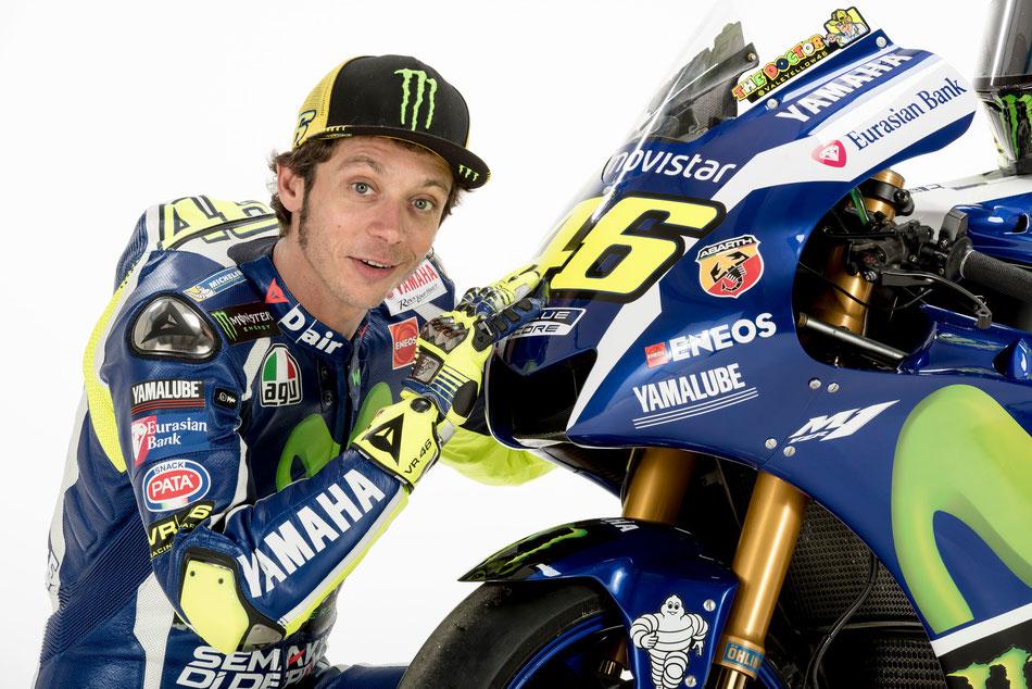 Hat nicht nur seine Maschine, sondern noch viel mehr in der MotoGP im Griff: Valentino Rossi.