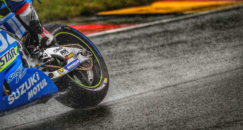 Immer wieder Gesprächsthema: Die neuen Reifen von Michelin.