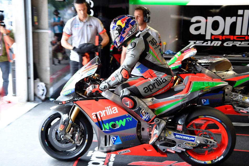 Stefan Bradl für Aprilia in der MotoGP 2016 in Spielberg