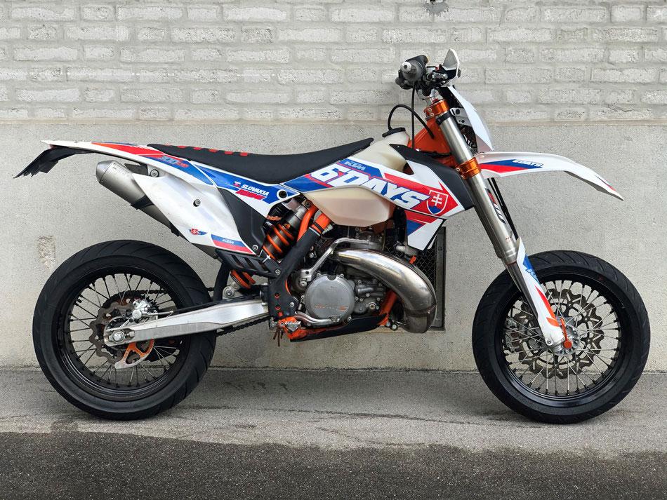 Projekt KTM EXC 300 Six Days 2016 - bereits verkauft.