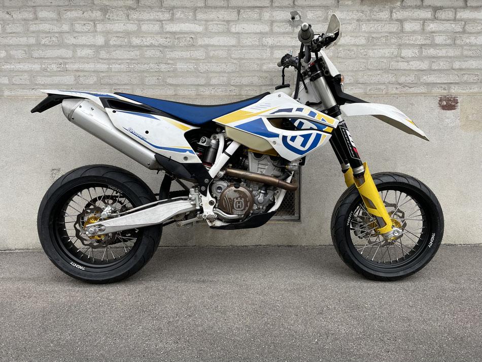 Projekt Husqvarna FE 350 2014 - bereits verkauft.