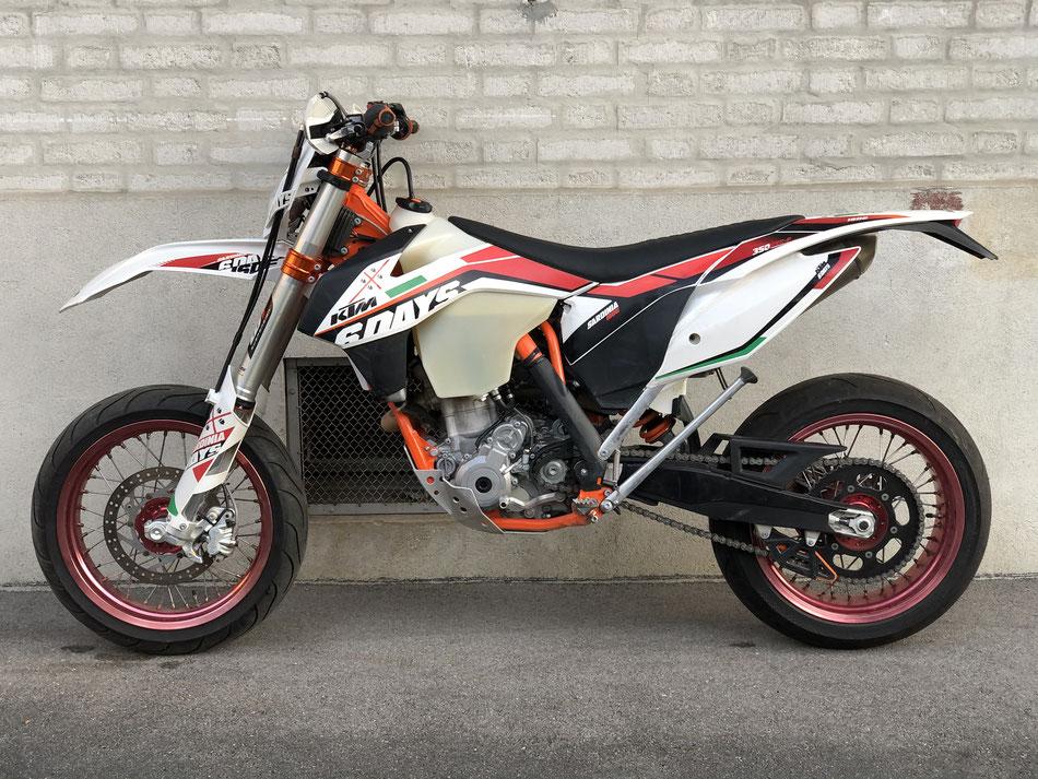 Projekt KTM EXC-F 350 SixDays 2014 - bereits verkauft.