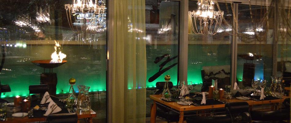 feuerstamm wood - Hotel Pirmin Zurbriggen in Saas Almagell - einzigartig von stahl-art Rufer