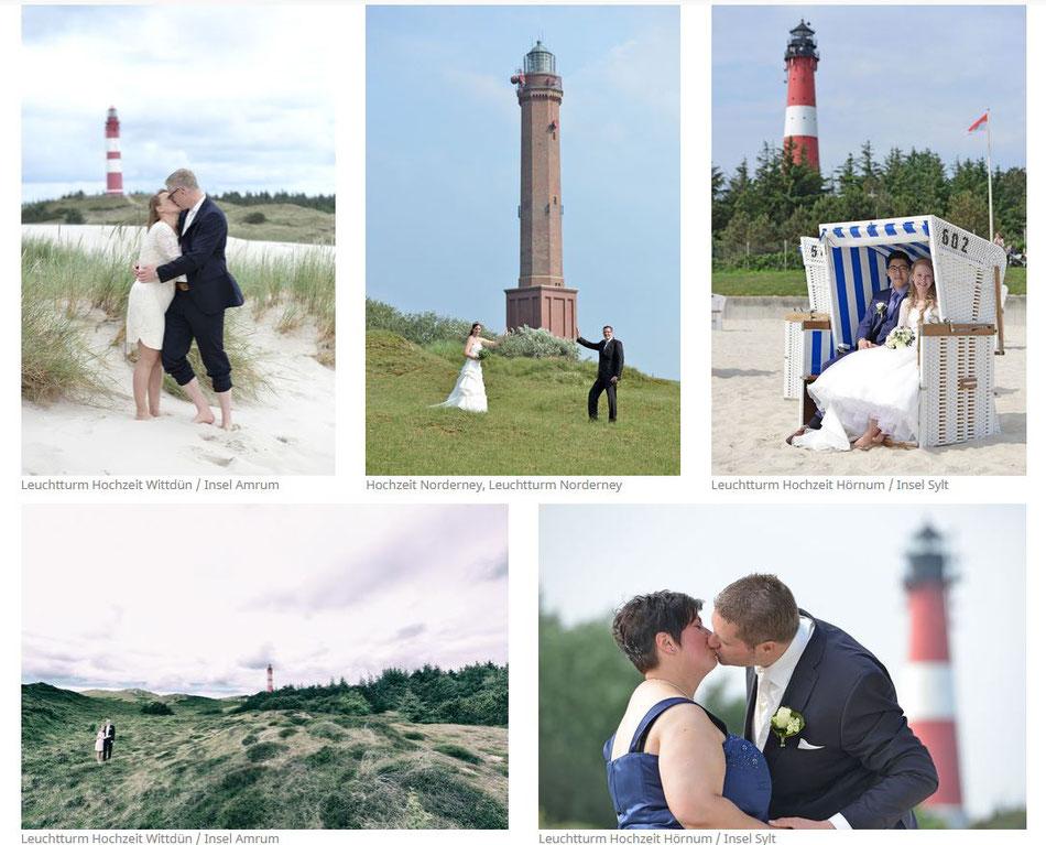 Leuchtturm Hochzeit Nordsee Fotograf Hochzeitsfotograf Sylt