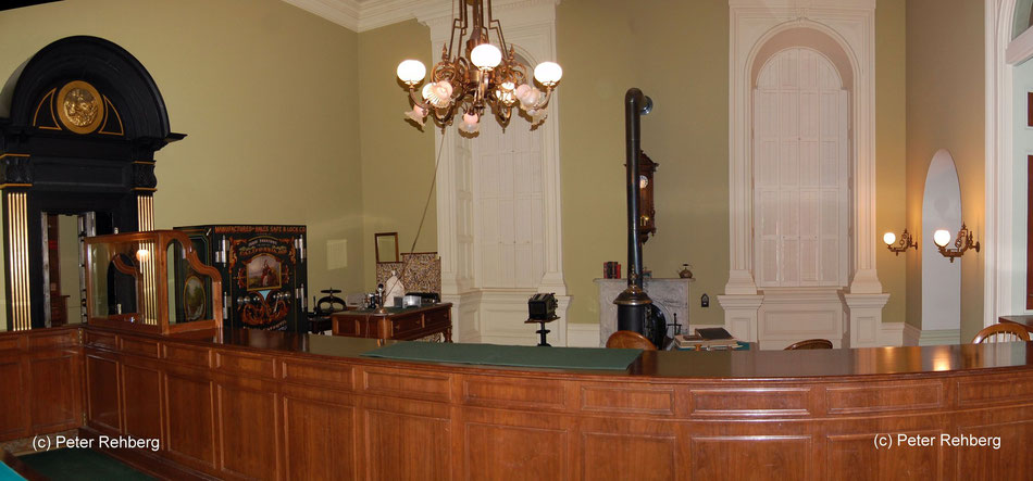 Amtszimmer des Finanzministers, 1906, Capitol, Sacramento, Peter Rehberg