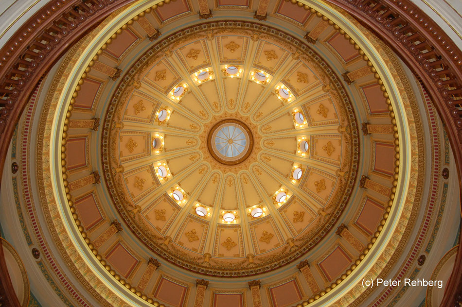 Kuppel, Capitol, Sacramento