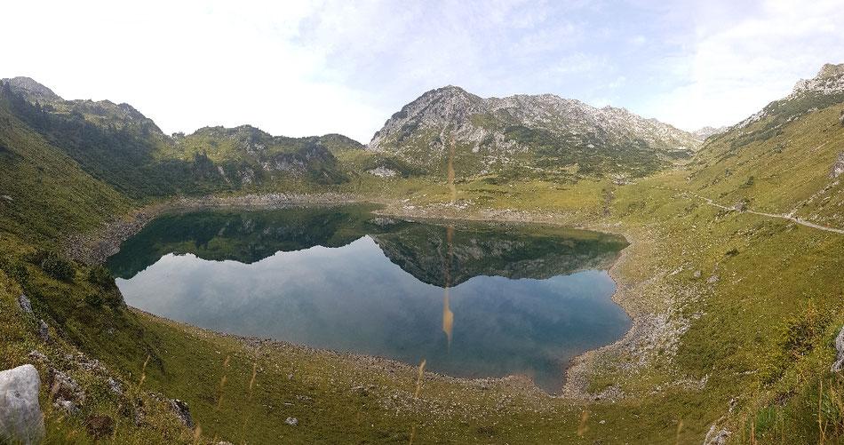 Der Formarinsee bei Lech am Arlberg