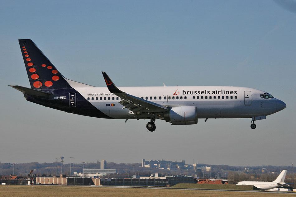 Nach dem Wechsel zur Brussel Airlines im Sommer 2011 ebenfalls in BRU.