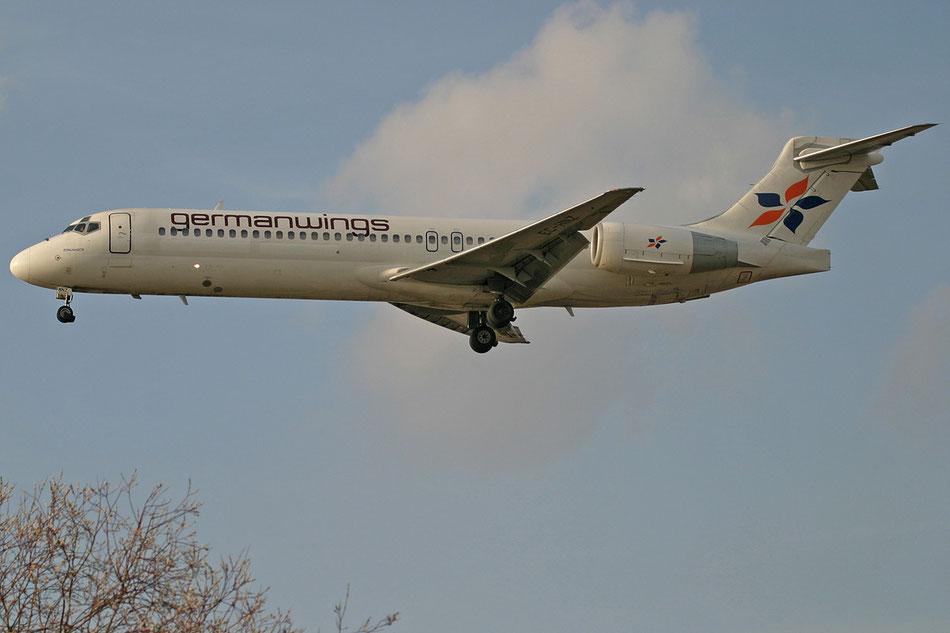 Als Germanwings im Anflug auf Berlin Schönefeld