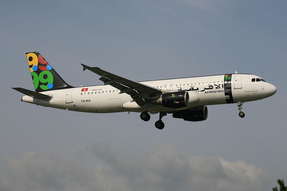 Zweimal Mal flog sie für Afriqiyah, die Airline eines Sohnes von Gaddafi.