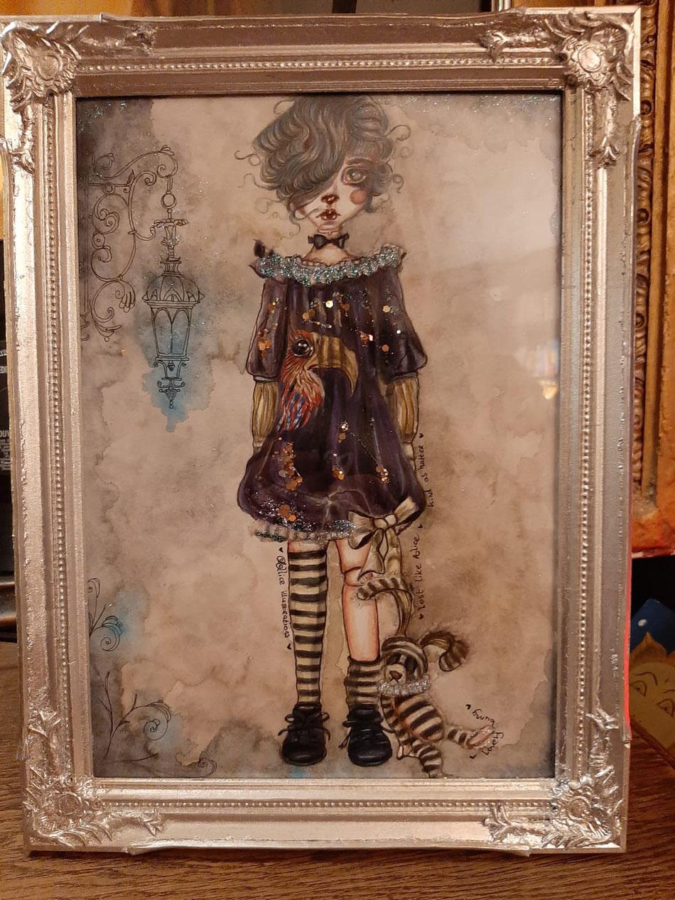 Dear Alice.....illustration sold