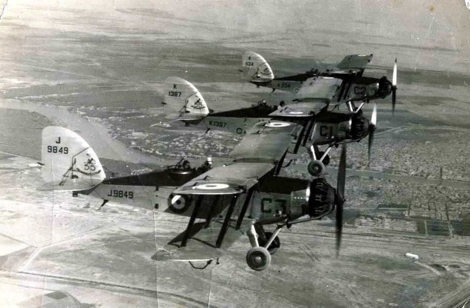 55 Sqn Wapitis Hinaidi 1937 (thanks to Ben Lovegrove)