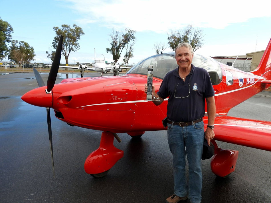 Mike Lawrence and Sling - retracing some OZ pioneer flights