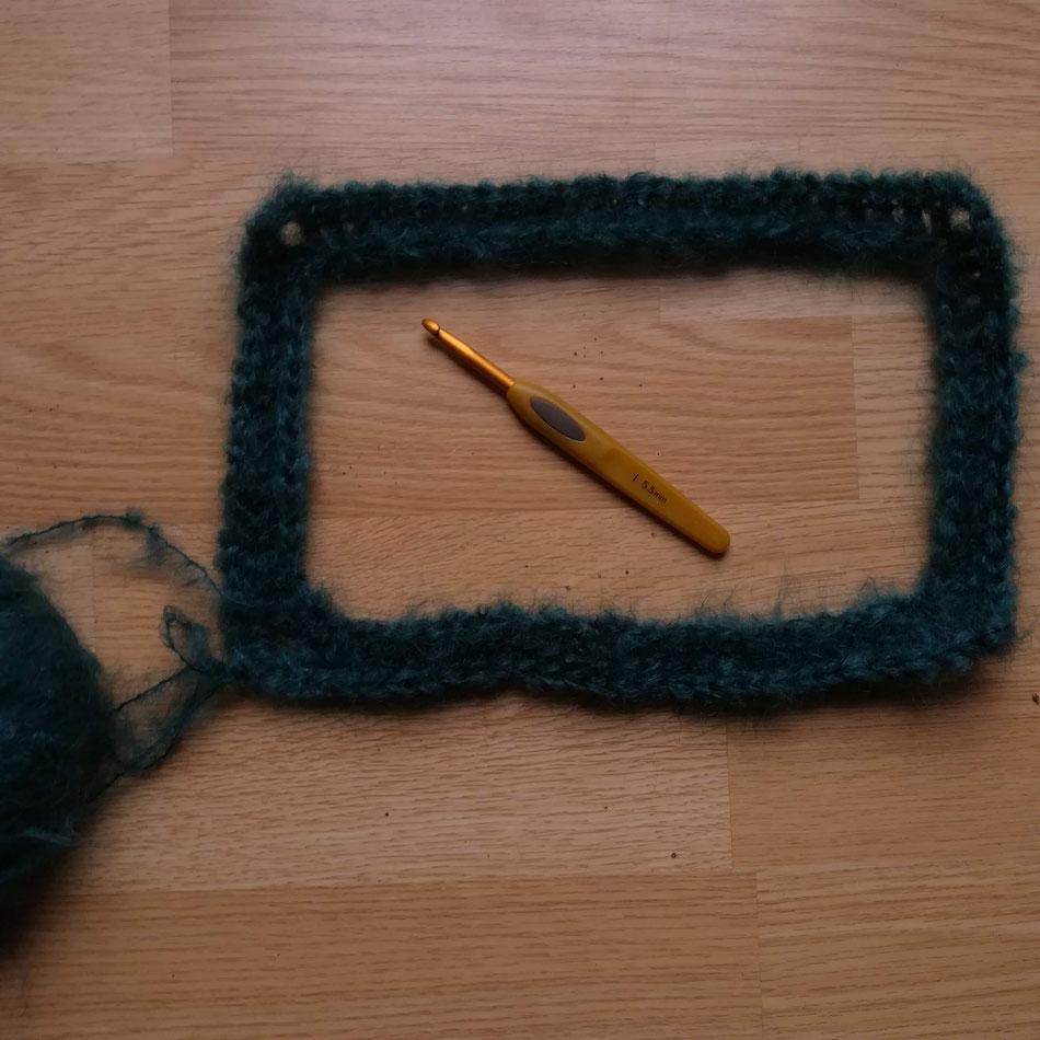 Amelia Raglan ( pull au crochet en laine Nuage )