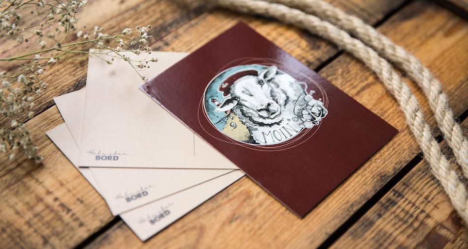 nordische_postkarten_hahn_ueber_bord
